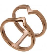Edblad 116130176-S Ladies overwinning rose goud verguld ring - de grootte n (en)