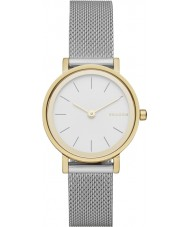 Skagen SKW2445 Ladies Hald zilveren stalen gaas armband horloge