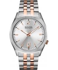 Bulova 98B220 Mens ba ii two tone stalen armband horloge