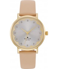 Kate Spade New York 1YRU0586 Ladies metro beige lederen band horloge