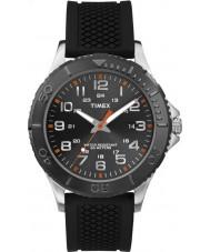 Timex TW2P87200 Mens taft straat zwarte siliconen band horloge