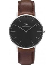 Daniel Wellington DW00100131 Klassiek zwart bristol 40mm horloge