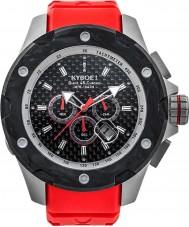 Kyboe AST-48-002 Alpha stalen horloge
