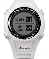 Garmin 010-01139-00 Aanpak s2 wit en grijs gps golf horloge