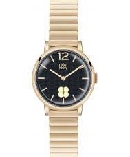 Orla Kiely OK4008 Ladies Frankie marine hamilton vergulde horloge