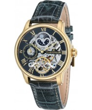 Thomas Earnshaw ES-8006-09 Mens lengte groen leder automatisch horloge