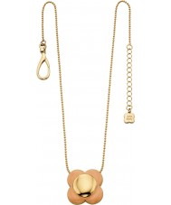 Orla Kiely N4023 Ladies daisy chain 18ct goud blush bloem hanger ketting
