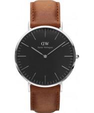 Daniel Wellington DW00100132 Klassiek zwart Durham 40mm horloge
