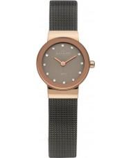 Skagen 358XSRM Ladies klassik grijze mesh horloge