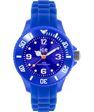 Ice-Watch 000791 Sili voor altijd mini blauwe siliconen band horloge