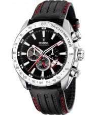 Festina F16489-5 Mens chronograaf dubbele tijd horloge