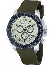 Swiss Eagle SE-9065-09 Mens Herzog groene chronograafhorloge
