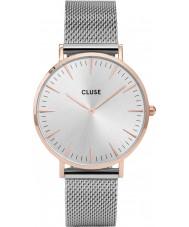 Cluse CL18116 Ladies La Boheme mesh horloge