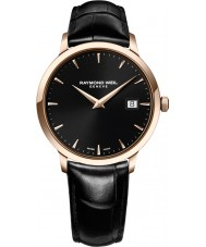 Raymond Weil 5488-PC5-20001 Mens toccata zwart lederen band horloge