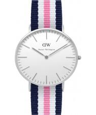 Daniel Wellington DW00100050 Dames klassieke Southampton 36mm zilveren horloge