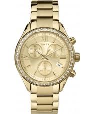 Timex TW2P66900 Ladies miami gouden chronograaf horloge