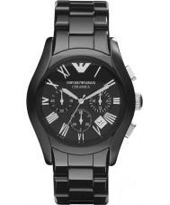 Emporio Armani AR1400 Mens keramische zwart chronograafhorloge