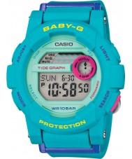 Casio BGD-180FB-2ER Ladies Baby-G wereldtijd blauw hars band digitaal horloge