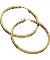 Edblad 41530031 Ladies monaco goud groot oorbellen