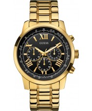 Guess W0379G4 Mens horizon vergulde chronograafhorloge