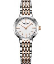 Rotary LB05061-02 Ladies uurwerken canterbury two tone stalen armband horloge