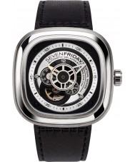 Sevenfriday P1B-01 P-serie essentie horloge