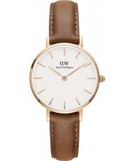Daniel Wellington DW00100228 Dames klassieke petite durham 28mm horloge