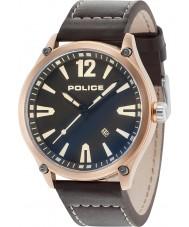 Police 15244JBR-02 Mens denton horloge