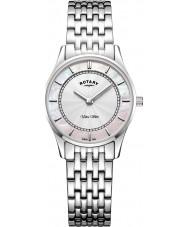 Rotary LB08300-07 Dames ultra slank horloge
