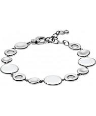 Skagen SKJ0577040 Ladies zee glas zilveren stalen armband