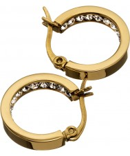 Edblad 41530032 Ladies monaco gouden mini oorbellen