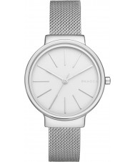 Skagen SKW2478 Ladies ancher zilver staalnetwerk watch