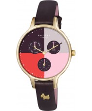 Radley RY2428 Ladies abdij kruidnagel lederen chronograaf