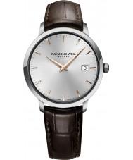 Raymond Weil 5488-SL5-65001 Mens toccata bruine lederen band horloge