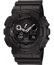 Casio GA-100-1A1ER Mens G-shock auto LED verlichting allemaal zwart horloge