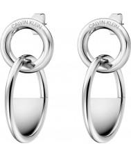 Calvin Klein KJ8GME000100 Dames gesloten oorbellen