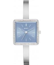 DKNY NY2557 Ladies Stonewall zilveren stalen armband horloge
