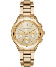 Karl Lagerfeld KL4006 Ladies optik vergulde chronograafhorloge