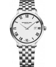 Raymond Weil 5488-ST-00300 Mens toccata zilveren stalen armband horloge