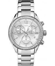 Timex TW2P66800 Ladies stad zilveren stalen armband horloge
