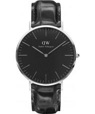 Daniel Wellington DW00100135 Klassiek zwart lezen 40mm horloge