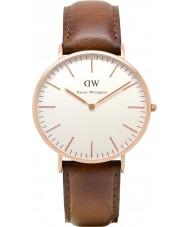 Daniel Wellington DW00100006 Heren Classic 40mm st mawes rose gouden horloge