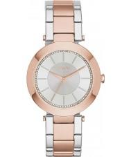 DKNY NY2335 Ladies stanhope two tone stalen armband horloge