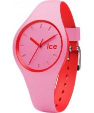 Ice-Watch 001491 Ice duo roze siliconen band horloge