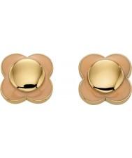 Orla Kiely E5161 Ladies daisy chain 18ct goud blush bloem oorbellen