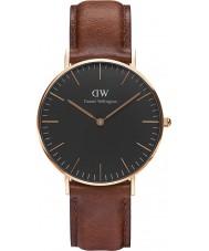 Daniel Wellington DW00100136 Klassiek zwart st mawes 36mm horloge