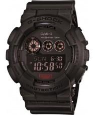 Casio GD-120MB-1ER Mens g-schok mat zwart kunststof band horloge