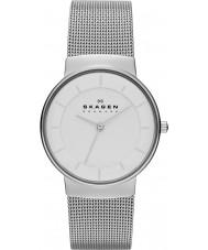 Skagen SKW2075 Ladies klassik zilveren stalen armband horloge