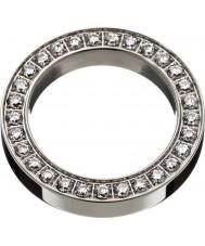 Edblad 78841 Ladies vierkant eeuwigheid stalen ring - maat S (xl)