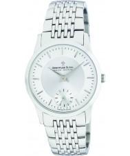 Dreyfuss and Co DGB00001-02 Mens 1946 zilveren horloge